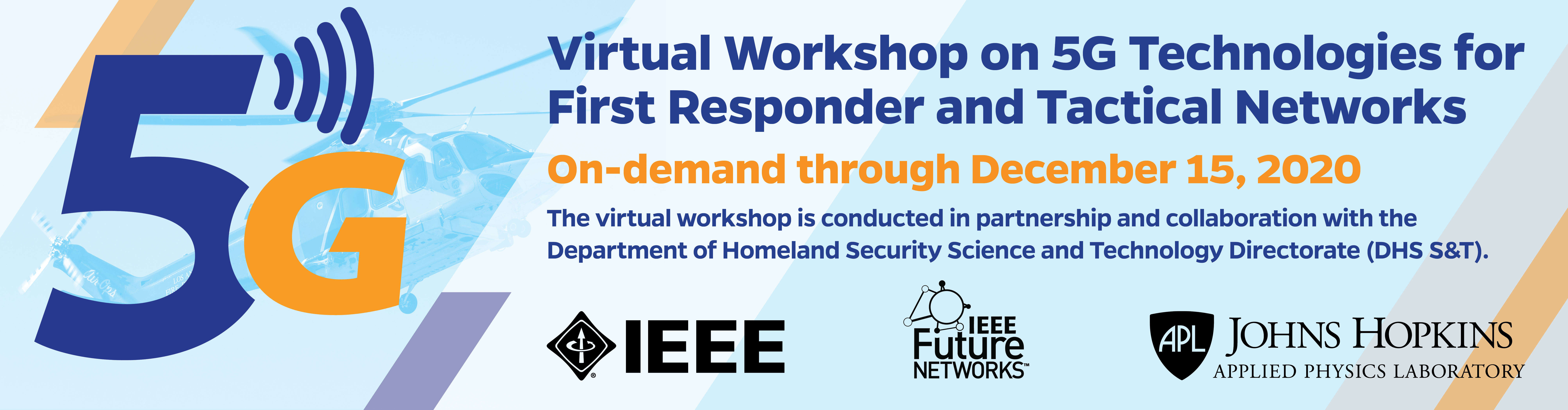5G First Responder and Tactical Networks Workshop