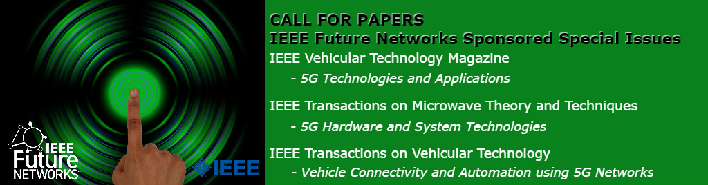 IEEE Future Networks Special Issues