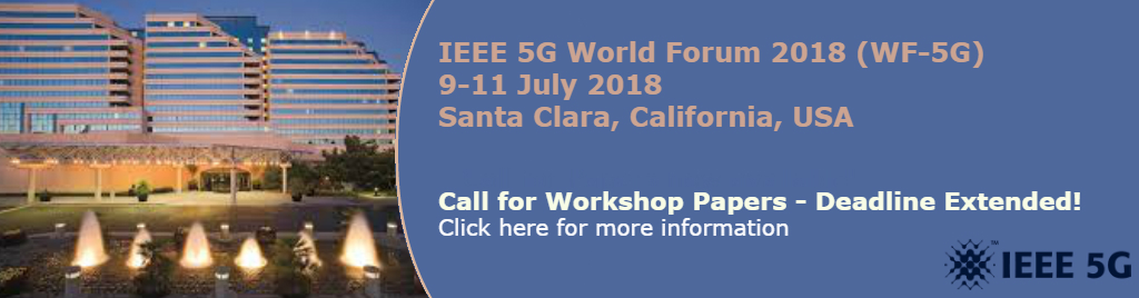 5GWF Call for Workshop Papers
