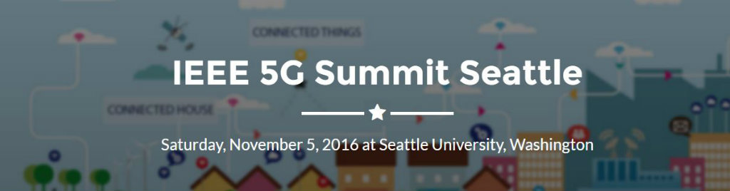 IEEE 5G Summit Seattle