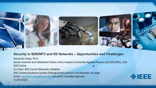 Security in SDNNFV 5G Presentation Video